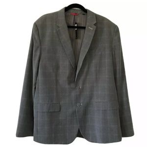 Sons of Intrigue Grey Plaid Blazer Suit